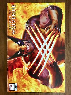 "Return Of Wolverine #1 NM+, Mayhew ""Secret"" Variant!"