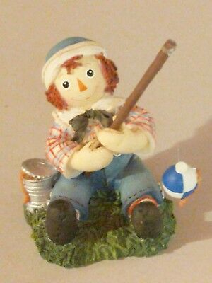 "Raggedy Ann and Andy ""Cast A Smile, Catch Some Joy,""   Enesco"