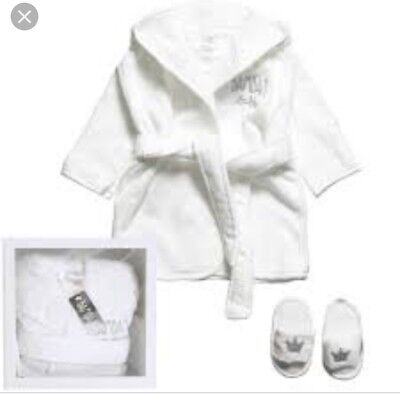Bambam Bath Robe And Slippers