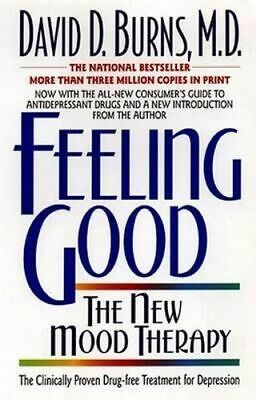 NEW Feeling Good By David D Burns Paperback Free Shipping