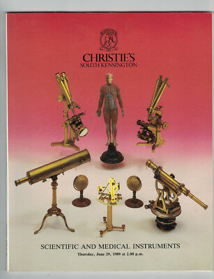Christies Scientific & Medical Instruments Auction Catalog