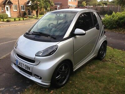 Smart FORTWO BRABUS 1.0 2dr Silver Semi-Auto 121BHP - Lots of EXTRAS!