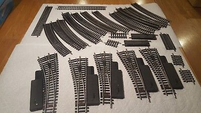 Vintage HO,Fleischmann, Lot Of Nickel Silver Rail, Manual Switches/Track Germany