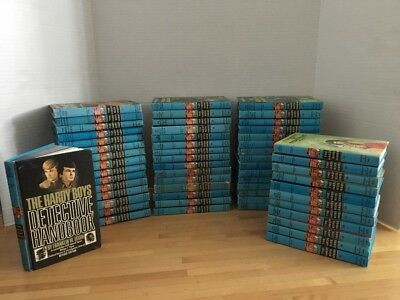 Hardy Boys Books Lot 57 Books Detective Handbook Vintage Hardcover