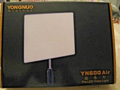 YONGNUO YN600 Air LED Camera Video Light ColorTemperature 5500K