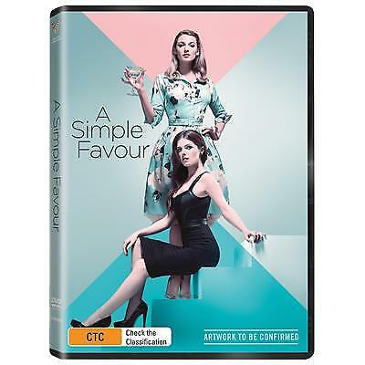 Simple Favour, A (DVD) (2018) (Region 4) New Release