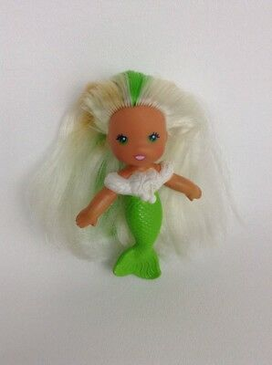7cb590c64787 Sea Wees Breezy Mermaid Icy Gals See Wee Mom Green Doll Vintage 80s Kenner