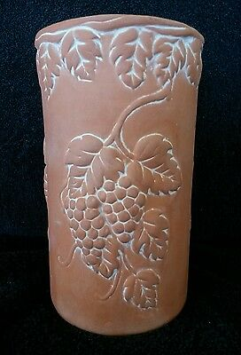Vintage Terracotta Wine/champagne Holder Chiller Clay White Washed Watertight