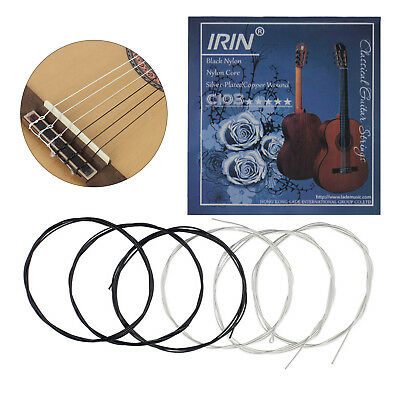 Pack of 6pcs Classical Guitar Strings Nylon Strings C103 E B G D A E String Set