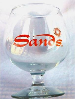 Las Vegas Nv Closed SANDS Casino Vintage Brandy Snifter 5""