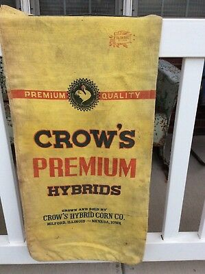 CROW'S Hybrid Seed Corn Sack Cloth Bag