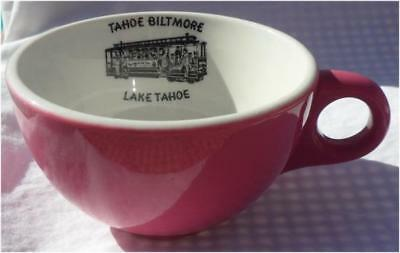 Nevada TAHOE BILTMORE Casino scarce China Coffee Cup with Trolley