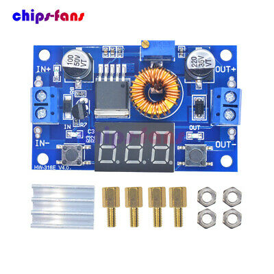 5A 75W DC DC Step down Converter Voltage transformer With LED Voltmeter