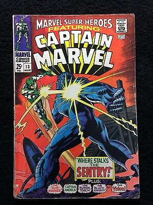 MARVEL SUPER-HEROES #13 1st APPEARANCE OF CAROL DANVERS CAPTAIN MARVEL!