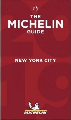 Michelin Red Guide 2019 New York City, Paperback by Michelin Travel Publicati...