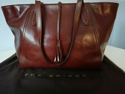 The Bridge Florentin Shopper 3447 Leder Damentasche Handtasche Premium