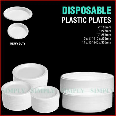 DISPOSABLE PLASTIC BOWLS Dessert Soup Wedding Party Dinner