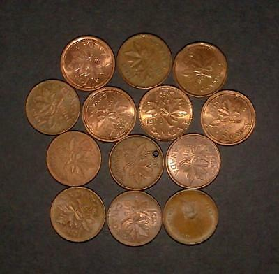 Small lot of coins from Canada (40g)