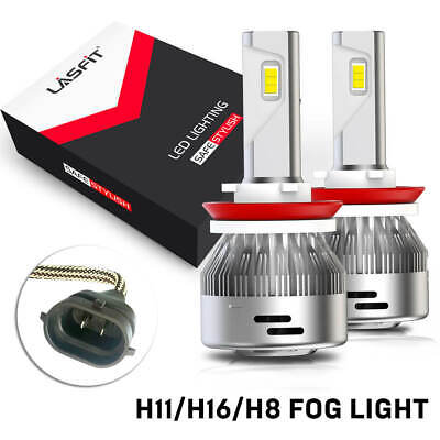 H11 LED Headlight 6000K Low Beam Bulbs for LEXUS ES350 IS250 CT200h RX330 OQ-A29