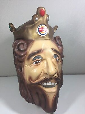 Rubies Burger King Latex Halloween Costume Mask Cos Play