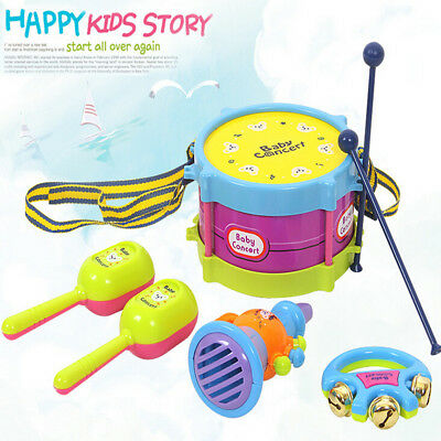 Novelty kids roll drum Instruments children educational toys Kids Toy baby gift