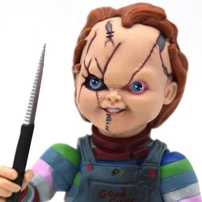 12cm Scale Horror Doll Child's Play Bride of Chucky PVC Action Figure Toy Ghost