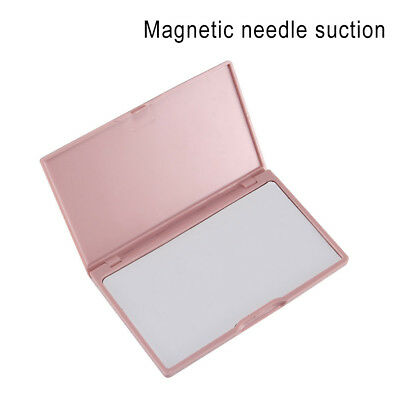 Portable Needle Storage Case Plastic Sewing Pins Organizer Magnetic Container