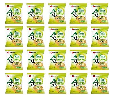 1 Karton Nong Shim VEGGIE Soon Ramyun 20x112g Instant Nudelsuppe Nudel Suppe