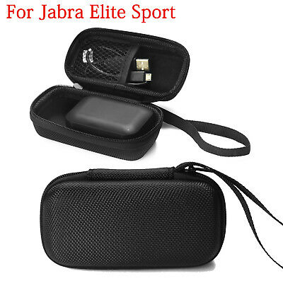 Storage Box Bag Case for Jabra Elite True  Waterproof Sports Eadbuds Headphones