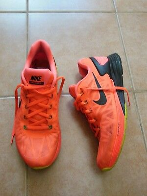 NIKE Lunarglide 6 Mens Sports Running Shoes Sneake Sz-44,5 EUR 10.5US authentic