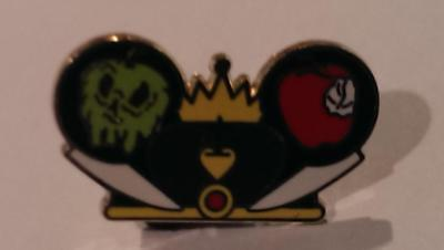 Disney Trading Pins-2012 Character Earhat-Evil Queen