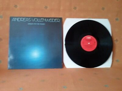 LP : Andreas Vollenweider : Down to the Moon TOP ZUSTAND 1986 CBS Holland