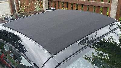 Worldwide - Black Smart Roadster Roof (Soft top) Re-trimmed - outright sale