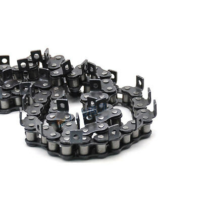 "#35 A-1 Roller Chain With One Side Bent Ear 3/8"" 06B-1 Roller Chain x1.5Meters"
