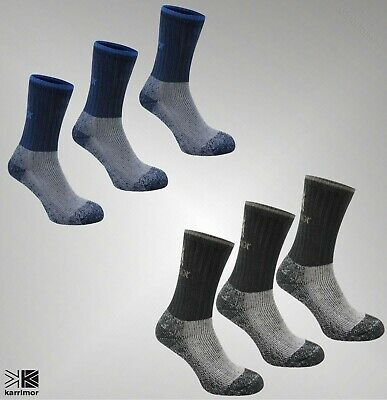 3 Pack Boys Girls Karrimor Comfort Warmth Heavyweight Boot Sock Size 1-6