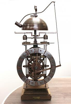 Medieval Mechanical Brass & Iron Clock Completorium Ancient