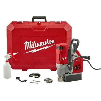 Milwaukee Electromagnetic Drill Holds Strongest Magnetic Base 13 Amp 1-5/8in