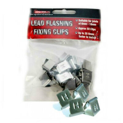 Easy-Trim Lead Fixing Clips | Hall Clips | Lead Flashing