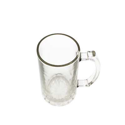 Sublimation Beer Glass Mug 16oz Clear Beer Stein Heat Press Transfer Printing