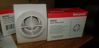 Honeywell Wave2 indoor electric siren. Two-tone,106db @12vdc.  30 in stock