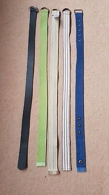 Boys Belts X5 Age 1.5 - 2 Years Old