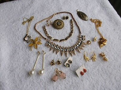 Job Lot Of New & Used Mixed Costume Jewellery Items..