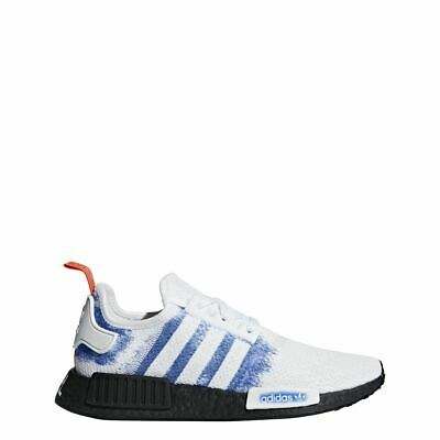 af055701a625a  G28731  Mens Adidas Originals NMD R1 Casual Sneaker - White Blue Black