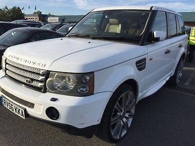 56 Land Rover Range Rover Sport 2.7 Tdv6 Hse - Wrapped White *spares/repairs*