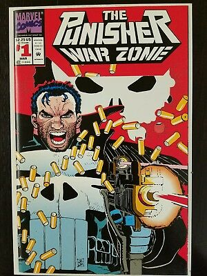 The Punisher: War Zone #1 (Mar 1992, Marvel) NM 9.8 Combined Shipping A2