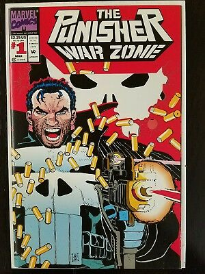 The Punisher: War Zone #1 (Mar 1992, Marvel) NM 9.8 Combined Shipping A3