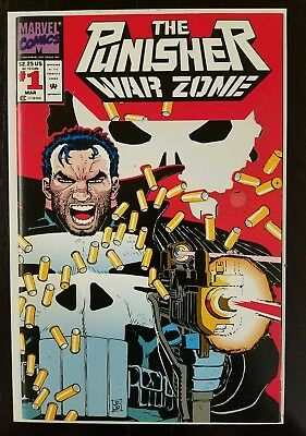 The Punisher: War Zone #1 (Mar 1992, Marvel) NM 9.8 Combined Shipping A5
