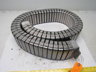"""Kabel Schlepp Type 115H Energy Chain Cable Carrier Enclosed Metal Clad 2""""x4""""x60"""""""