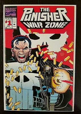 The Punisher: War Zone #1 (Mar 1992, Marvel) FN 8.5  Combined Shipping A6 $.01