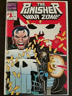 The Punisher: War Zone #1 (Mar 1992, Marvel) FN 8.5  Combined Shipping A7 $.01